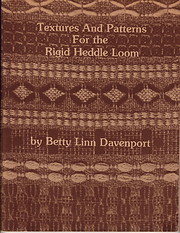 Textures and Patterns for the Rigid Heddle…