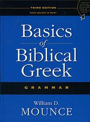 Basics of Biblical Greek Grammar por William…