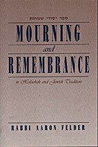 Mourning & Remembrance in Halachah & Jewish…