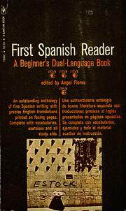 First Spanish reader – tekijä: Angel…