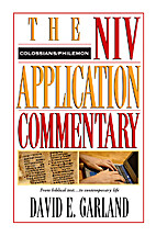 The NIV Application Commentary Colossians…