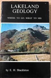 Lakeland geology por Edgar Howard Shackleton