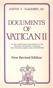 Documents of Vatican II by Austin Flannery