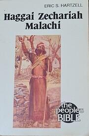 Haggai/Zechariah/Malachi (People's Bible…