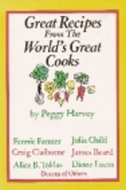 Great Recipes From the World's Great Cooks…