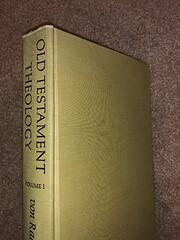 Old Testament Theology Volume One de Gerhard…