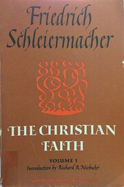 The Christian Faith: English Translation of…