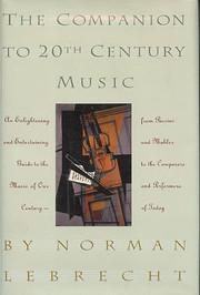 Companion to Twentieth-Century Music af…