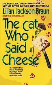 The Cat Who Said Cheese por Lilian Jackson…