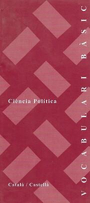 Vocabulari bàsic. Ciència política