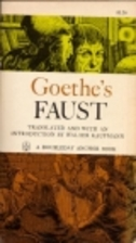 Goethe's Faust: Part One and Sections from…