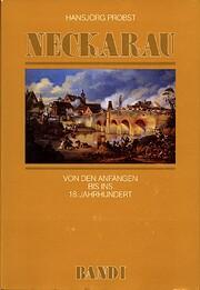 Neckarau Band I de Hansjörg Probst