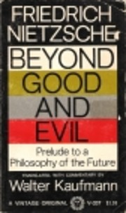 Beyond Good and Evil: Prelude to a…