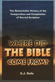 Where Did the Bible Come From? de S.J. Rafe