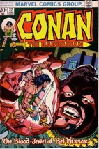 Conan the Barbarian #27 by Roy Thomas