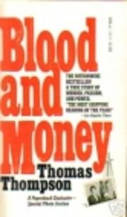 Blood and Money – tekijä: Thomas Thompson