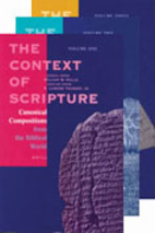 Context of Scripture by William W. Hallo