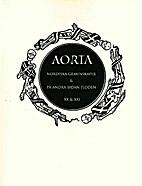 Aorta : journal för retrogardistisk kultur…