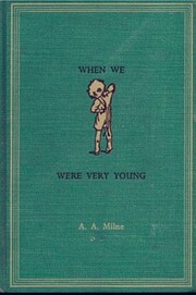 When We Were Very Young: Poems by A. A.…