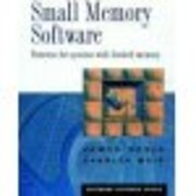 Small Memory Software: Patterns for systems…
