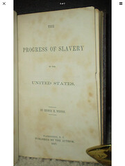 The progress of slavery in the United States…