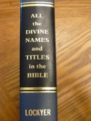 All the Divine Names and Titles in the…
