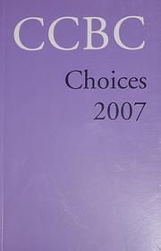 CCBC Choices 2007 de Merri V. Lindgren…