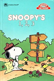 Snoopy's 1,2,3 de Golden Books