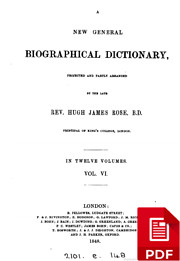 A New General Biographical Dictionary,…