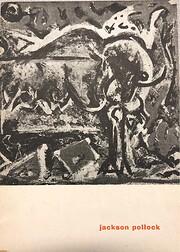 Jackson Pollock, 1912-1956 de Jackson…