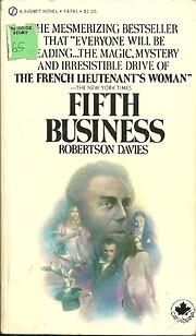 Fifth business – tekijä: Robertson Davies