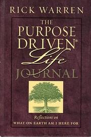 The Purpose-Driven Life Journal – tekijä:…