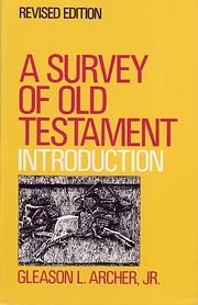 A survey of Old Testament introduction af…