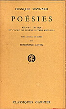 Poésies Recueil de 1646 et choix de divers…