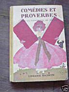 Comédies et proverbes by Comtesse de Ségur