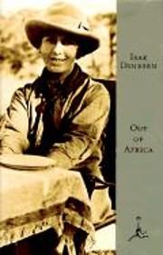 Out of Africa de Isak Dinesen