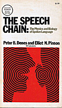 The Speech Chain: The Physics and Biology of…