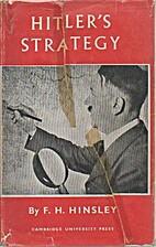 Hitler's strategy by F. H. Hinsley