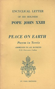 Peace on Earth (Pacem in Terris): Encyclical…