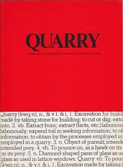 Quarry: A selection of contemporary Western…
