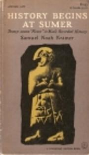 History begins at Sumer de Samuel Noah…