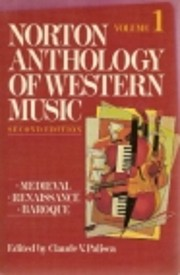 Norton Anthology of Western Music Mediev af…