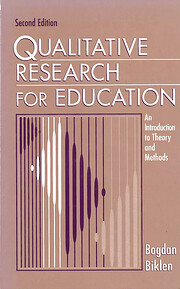 Qualitative research for education : an…