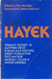 Essays on Hayek