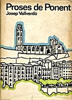 Proses de ponent by Josep Vallverdú