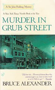 Murder in Grub Street di Bruce Alexander