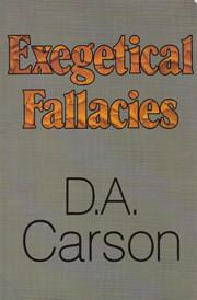 Exegetical Fallacies de D. A. Carson