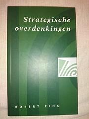 Strategische overdenkingen – tekijä:…