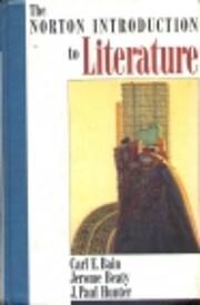 The Norton Introduction to Literature av C.…