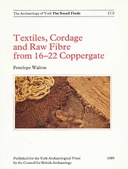 Textiles, Cordage and Raw Fibre from 16-22…